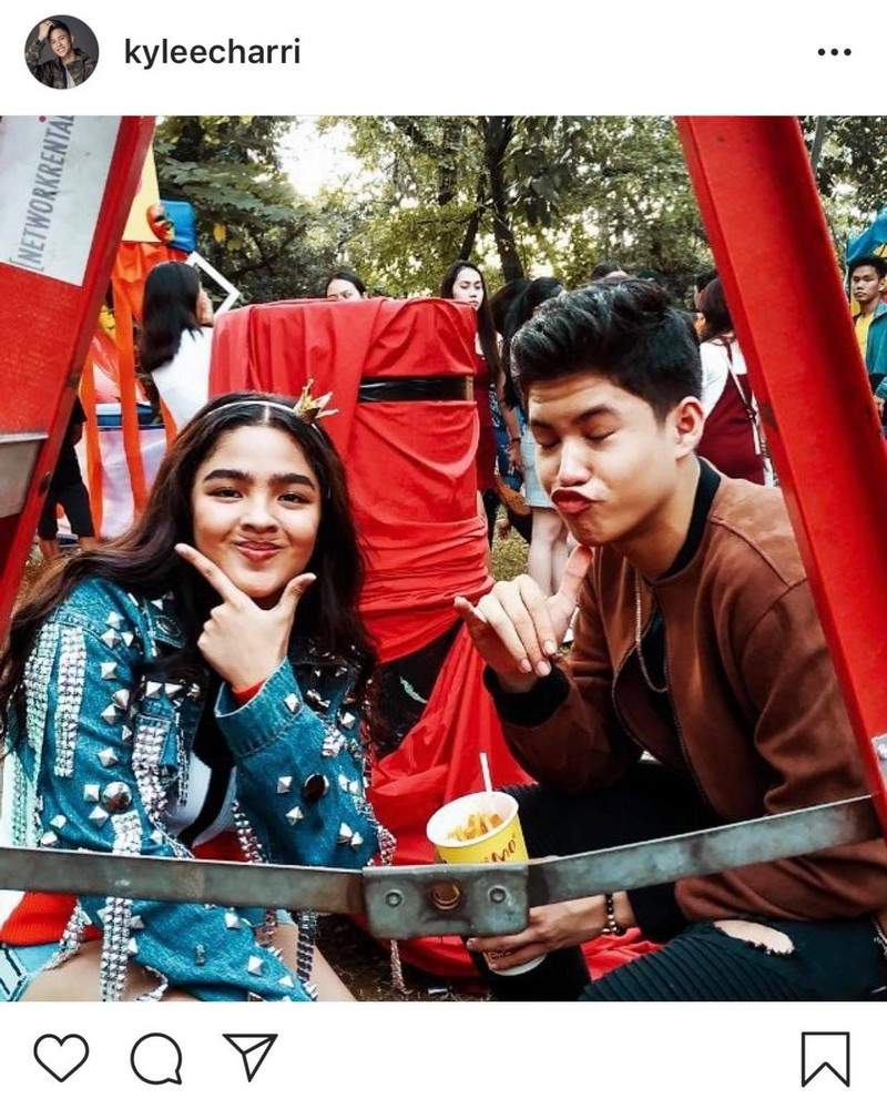 LOOK: Andrea and Kyle's blossoming romance in these 16 Photos