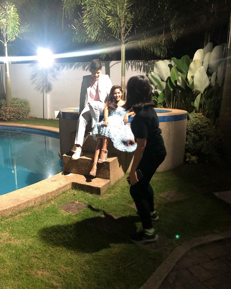 LOOK: Off-cam moments of Kyle & Andrea