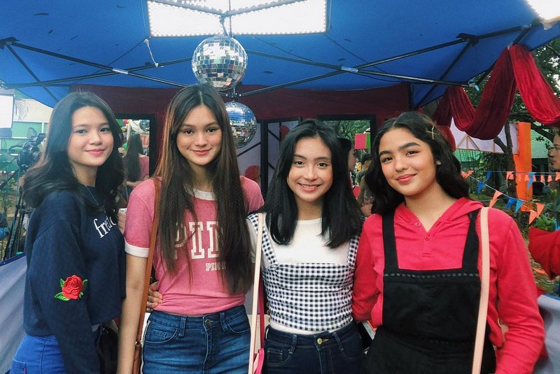LOOK: What Marga's 'Siopao Squad' do in between takes