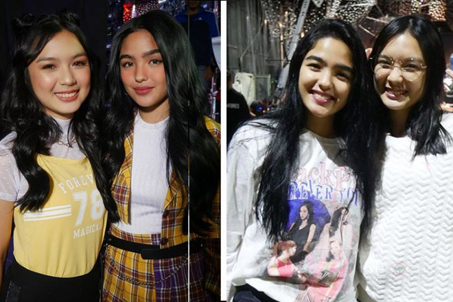 PHOTOS: Kadenang Ginto stars Andrea and Francine on ASAP Natin 'To and iWantASAP
