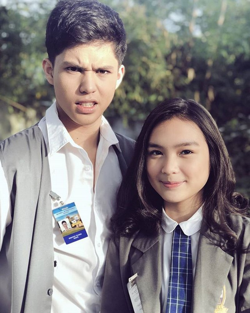 LOOK: Kulitan moments nina Cassie and Kristoff sa set ng Kadenang Ginto