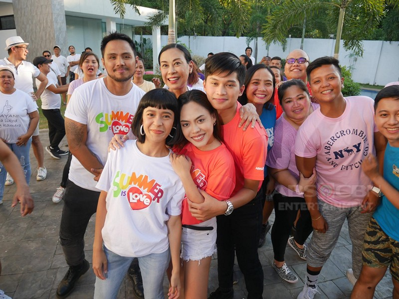 "IN PHOTOS: Kadenang Ginto Cast for ABS-CBN's ""Summer Is Love"" Station ID 2019"