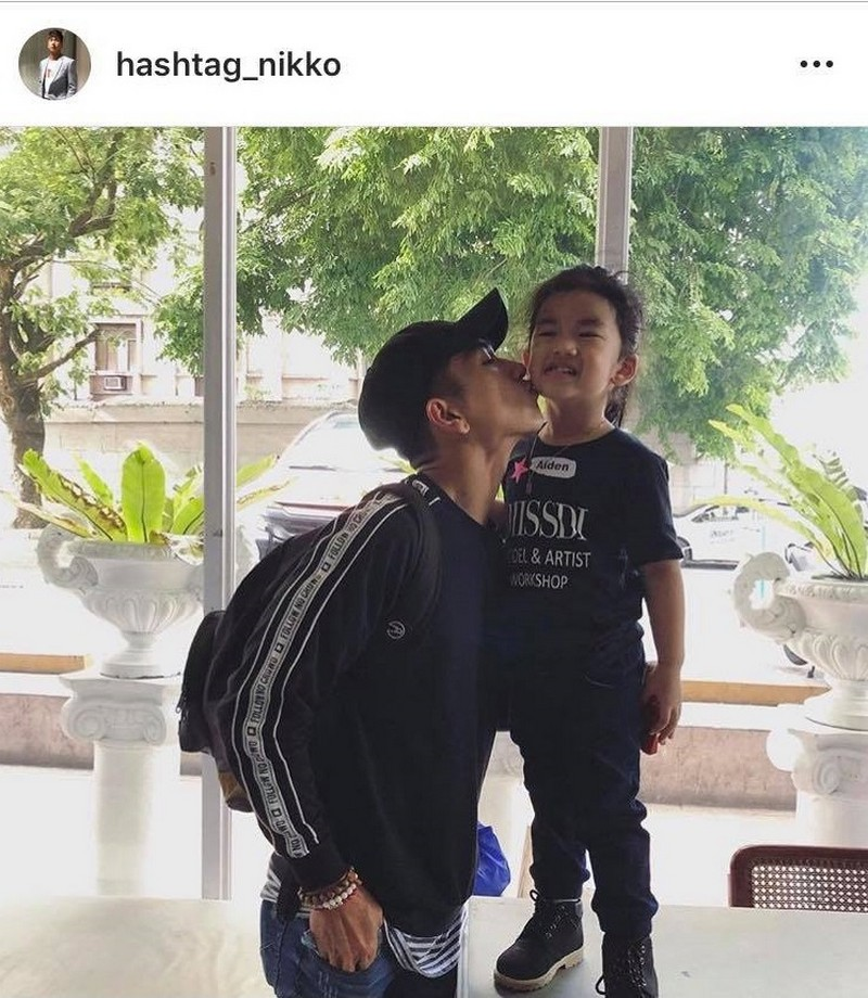 27 Photos of Nikko Natividad with his adorable little one