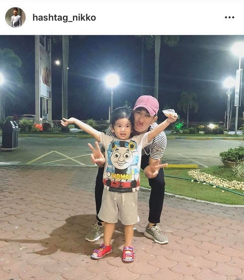 LOOK: 27 Photos of Nikko Natividad with his adorable little one