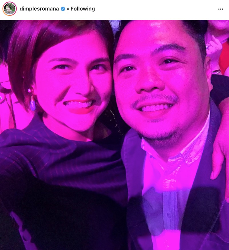Dimples Romana with her lovable husband Boyet