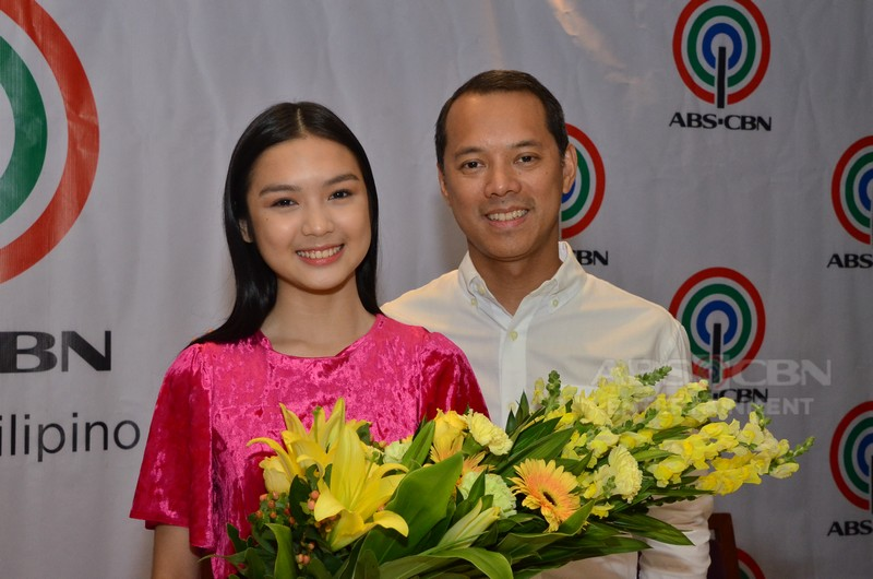 Francine Diaz signs two-year contract with the Kapamilya Network