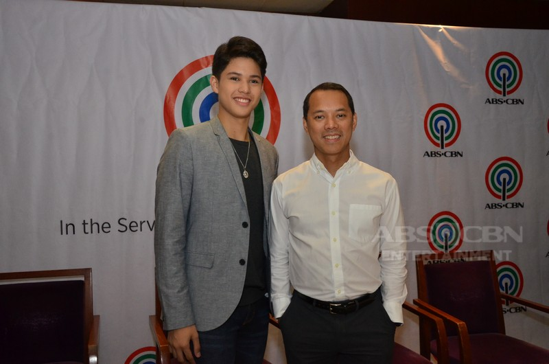 IN PHOTOS: Kyle Echarri's contract signing with ABS-CBN