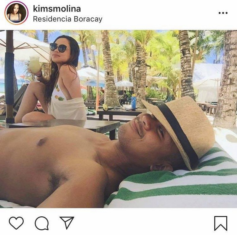 "IN PHOTOS: Kim Molina with her real-life ""pogi"" boyfriend"