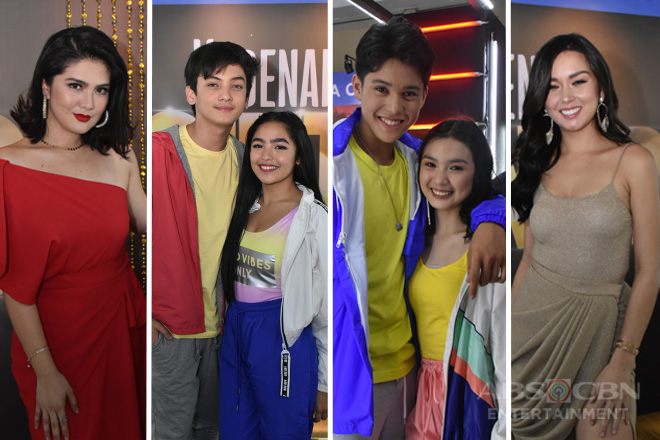 IN PHOTOS: Kadenang Ginto cast at the #ForeverKapamilya Trade Event