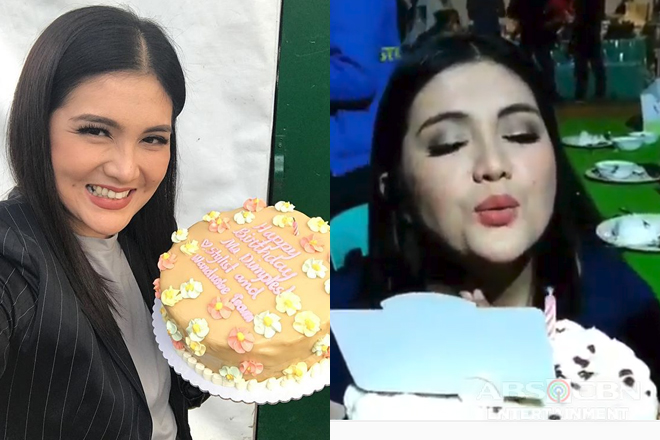 Birthday surprises on set for Dimples Romana